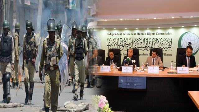 OIC Concerned Over Use of Cluster Ammunition By Indian Troops