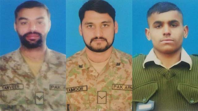 LOC: Four Pakistani Soldiers Martyred in Indian Forces Firing