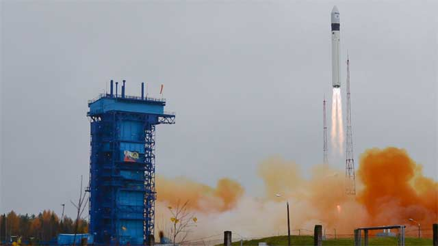 Russia's Rokot Space Rocket Successfully Launches Geo-IK-2 Satellite