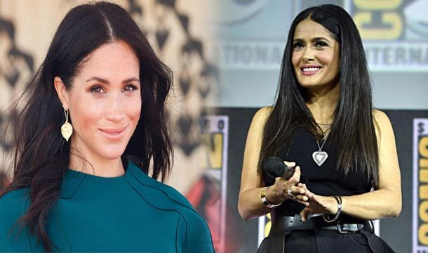 Salma Hayek's Top Secret Phone Call With Meghan Markle Revealed