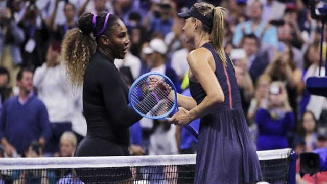 US Open: Serena Williams Beats Maria Sharapova For 19th Time in Row