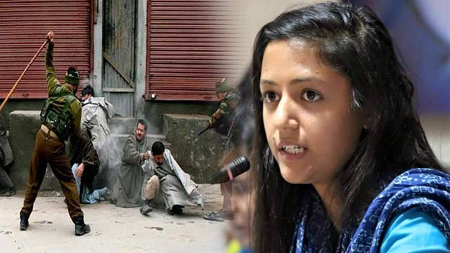 Shehla Rashid Exposes Indian Barbarism in Occupied Kashmir