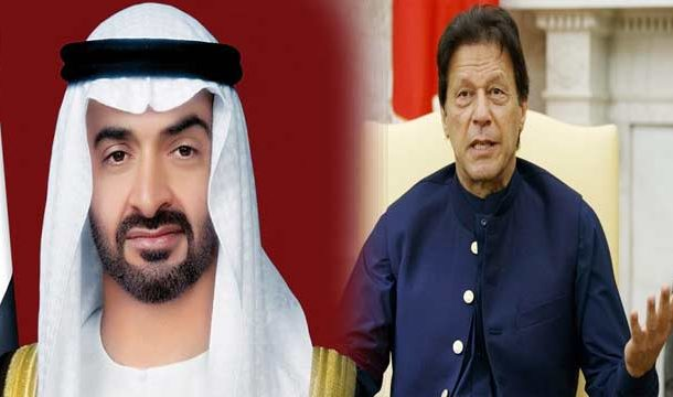 PM Khan Briefs Abu Dhabi Crown Prince Over Kashmir Situation