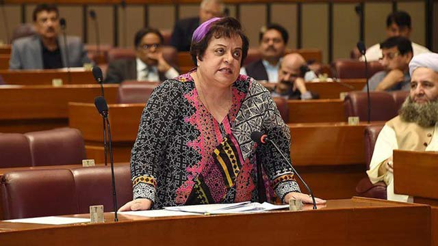 Shireen Mazari Calls For Joint Resolution on Kashmir Issue