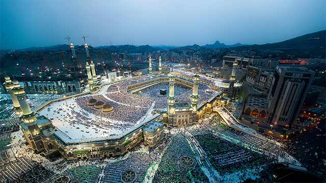 Turkish Pilgrims Arrived in Saudi Arabia For Hajj