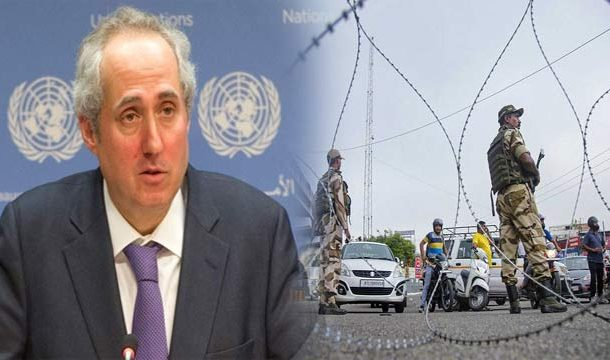 UN Shows Concern Over India's Move to Withdraw Kashmir's Special Status