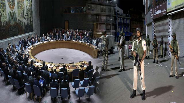 UNSC Showed Deep Concern Over Current Situation in IIOJ&K