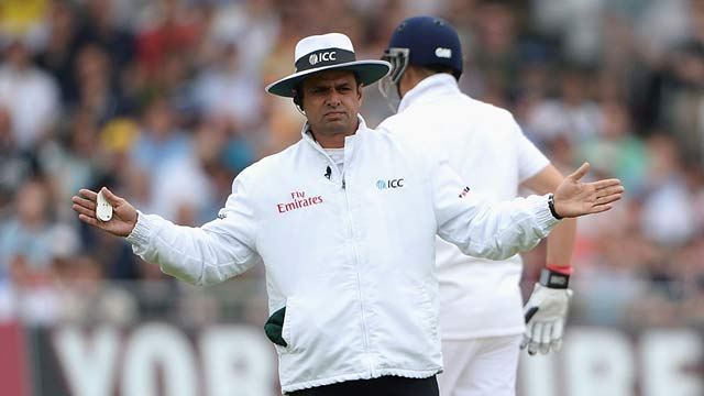 Aleem Dar Moves Closer to Break Steve Bucknor's Record