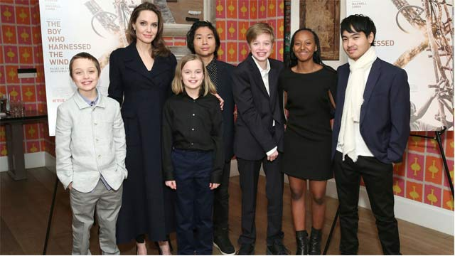 Angelina Jolie's Kids are Her First Priority Now