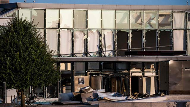 Blast Hits Tax Office in Copenhagen, One Person Wounded