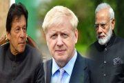 British PM Urges India, Pakistan to Resolve Kashmir Issue Bilaterally