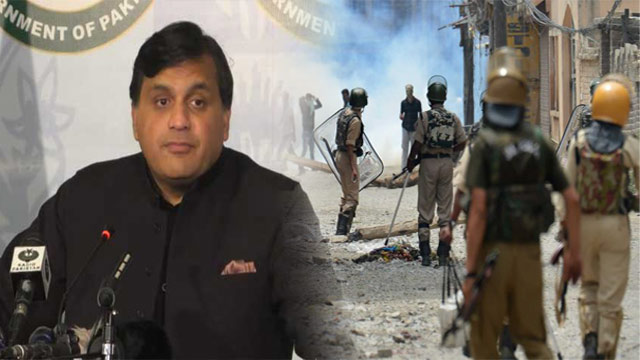 India's Kashmir Clampdown Will Have to End One Day: FO Spokesperson