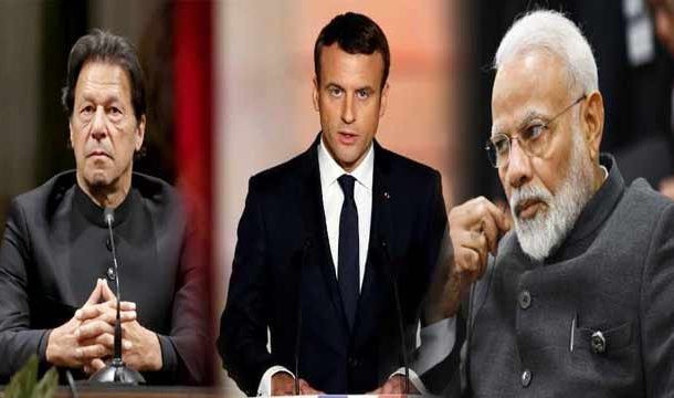 French President Urges Pak-India Dialogue On Kashmir Conflict