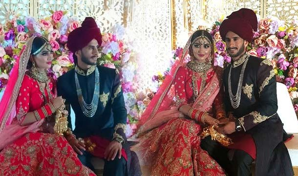 Fast Bowler Hassan Ali Ties The Knot With Indian Girl