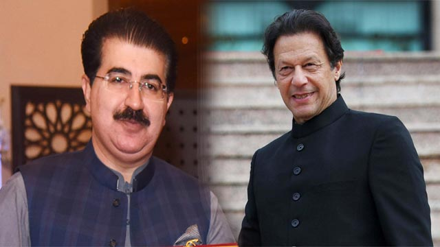 PM Imran Congratulates Sanjrani Over Securing Confidence Vote