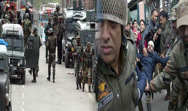 Curfew Imposed in Indian Occupied Kashmir-Crackdown Launched