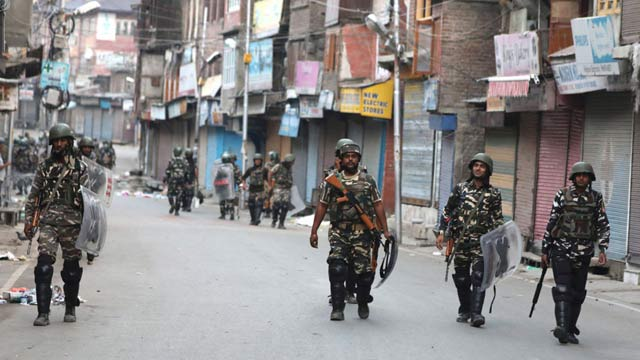 Detained Kashmir Separatists Urge Public March Against Revocation of Article 370