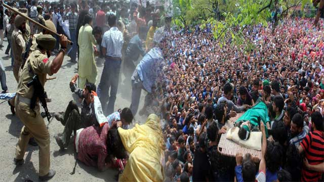 Occupied Kashmir- Thousands arrested and hundreds injured since 5 August