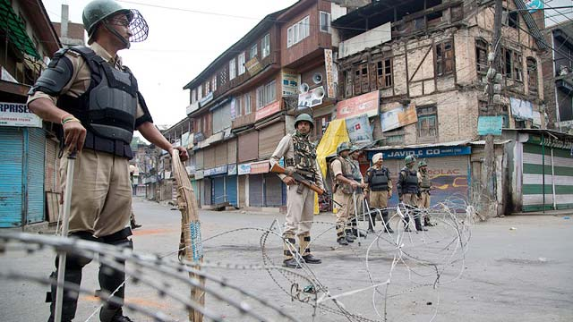 Strict Curfew on Consecutive 23rd Day Made Life Miserable in IOK