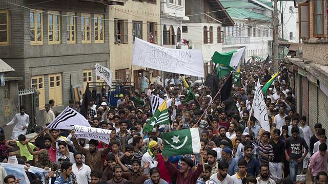 Indian Forces Fire Bullets, Pellets as Anti-India Protests Erupted In IOK