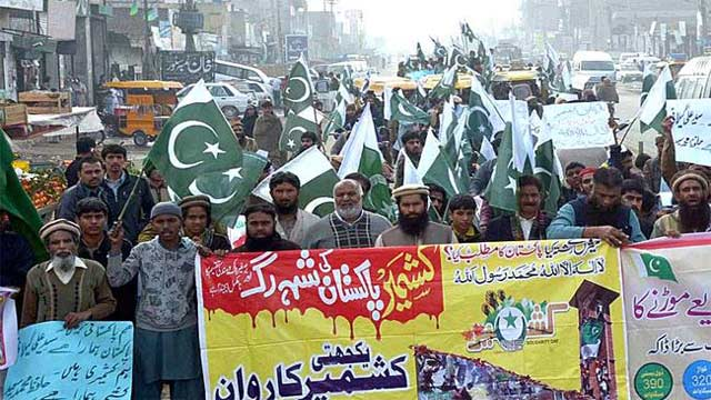 Pakistan to Observe Friday as Day of Solidarity With Kashmiris