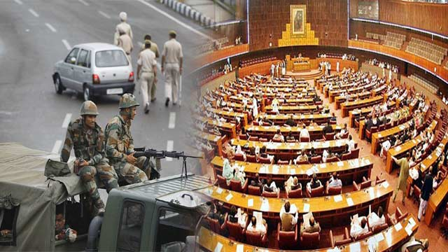 Joint Session Of Parliament on Kashmir Situation Underway