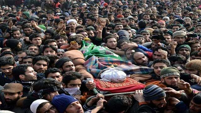 Indian Troops Martyr Innocent Kashmiri Youth in Baramulla