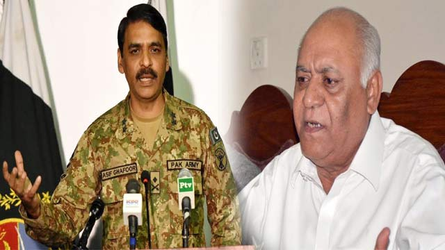 DG ISPR Dismisses Hasil Bizenjo's Allegations