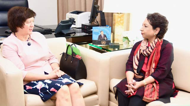 Maleeha Briefs UNSC President Over India's Illegal Actions in Kashmir