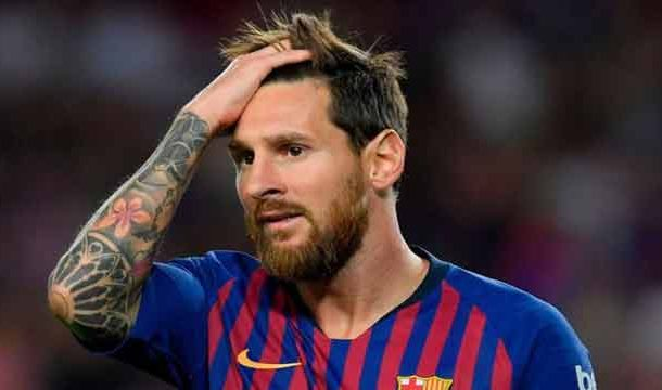 Unfit Lionel Messi Ruled Out of Barcelona's La Liga Opener