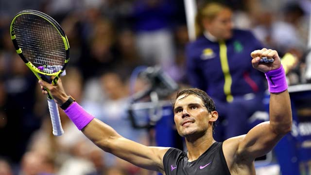Nadal Clips Millman's Wings In U.S. Open