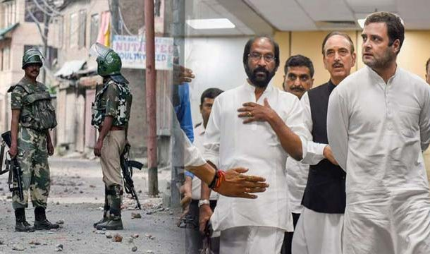 Top Indian Opposition Leaders Sent Back From Srinagar Airport