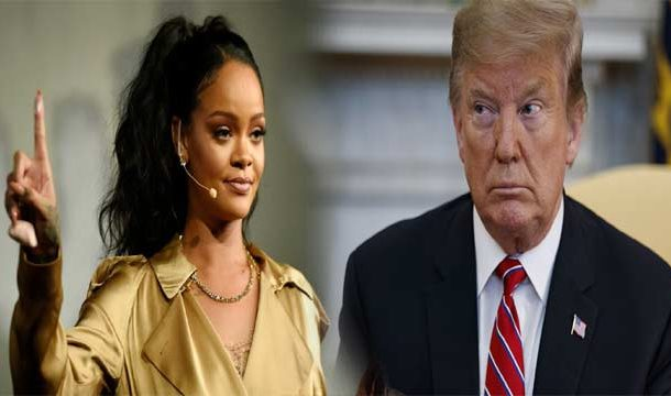 Rihanna Takes a Dig at Trump For Not Labelling US Shootings as 'Terrorism'