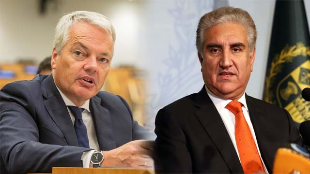 Qureshi Apprises Belgium FM About Terrible Situation in Kashmir