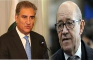 FM Qureshi Discusses Kashmir Situation With French Counterpart