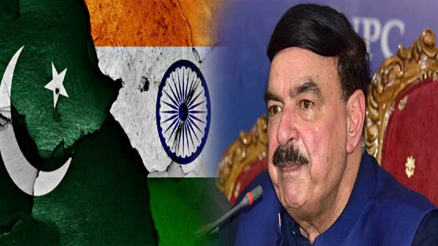 Sheikh Rasheed Again Predicts Pakistan-India War in Coming Months