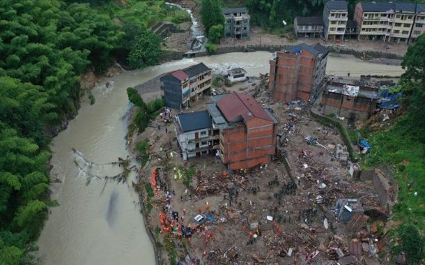 Deadly Typhoon Lekima Claims 45 Lives in China