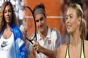Serena-Sharapova and Federer Set to Play in First Round of US Open