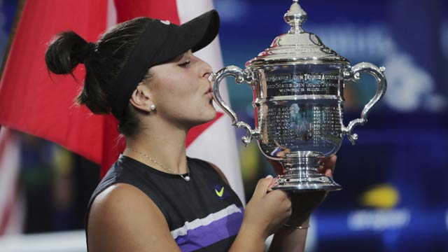 Andreescu Becomes Canada´s First Grand Slam Singles Champion