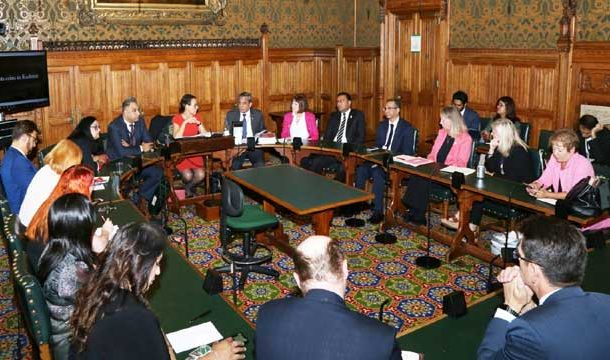 British MPs Committed For Alleviation Of Humanitarian Crisis in IOK