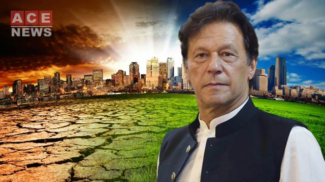 PM Imran Seeks World's Support To Tackle Climate Change