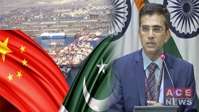 India Asks China, Pakistan to End CPEC Related Activities In AJK