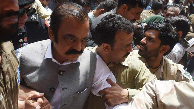 Court Extends Judicial Remand of Rana Sanaullah Till September 28