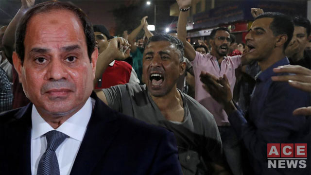 Protest Erupts in Egypt Against Strongman Fattah Sisi
