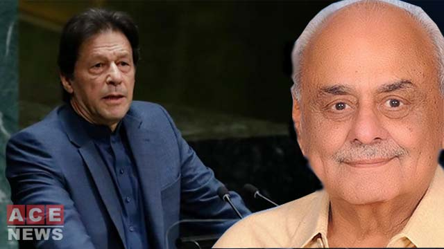 Ejaz Ahmed Praises Imran Khan for Effectively Projecting Kashmir Issue