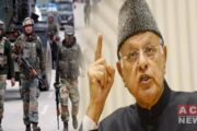 Indian Forces Arrest Former IOK  CM 'Farooq Abdullah'