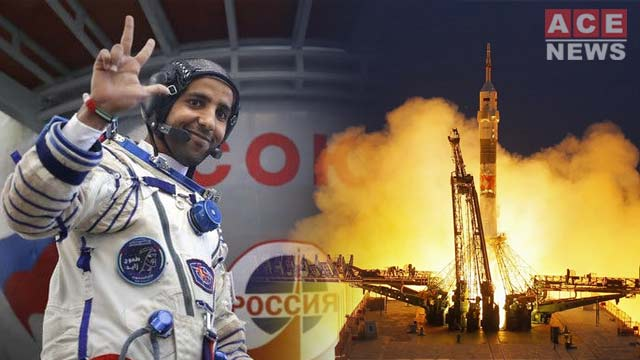 First U.A.E. Astronaut, Launches to Space Station