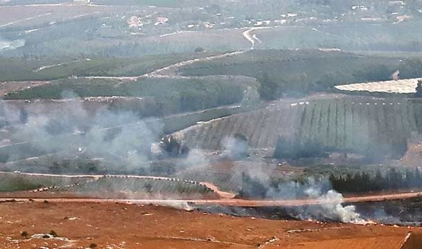 Hezbollah, Israel Exchanged Fire Along the Lebanese Border