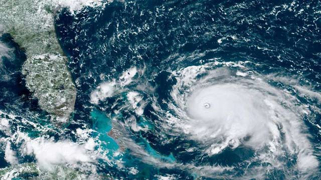 Emergency Declared as Hurricane Dorian Hits Bahamas
