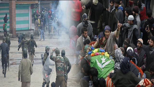 Three Kashmiris Martyred In India's State Terrorism